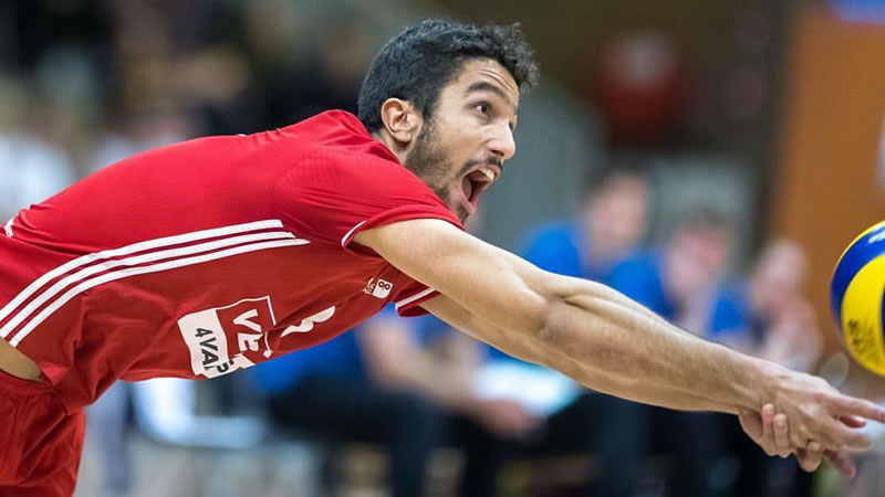 Playoff 1/2-Final, Spiel 1: Lausanne UC – Volley Amriswil