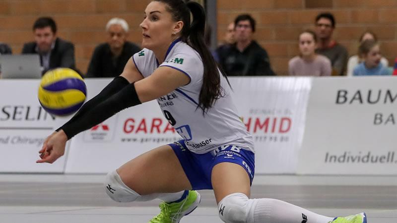 Playoff 1/2-Final, 3. Spiel: Sm'Aesch Pfeffingen – TS Volley Düdingen