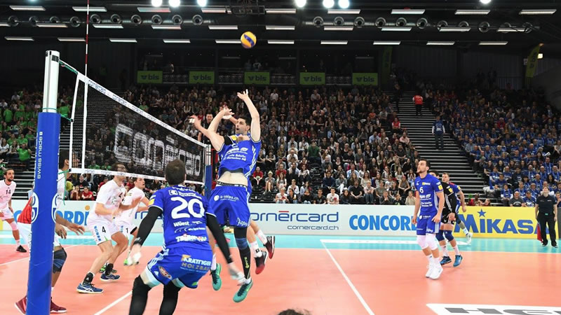 Cup 1/8-Final: Volley Schönenwerd – LINDAREN Volley Amriswil
